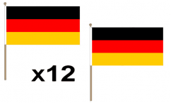 German Hand Flags