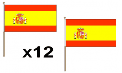 Spanish Hand Flags