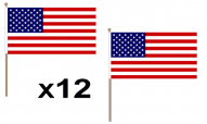American Hand Flags
