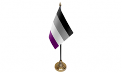Mini asexual flag