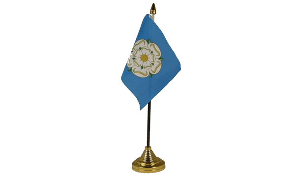 Yorkshire New Table Flags