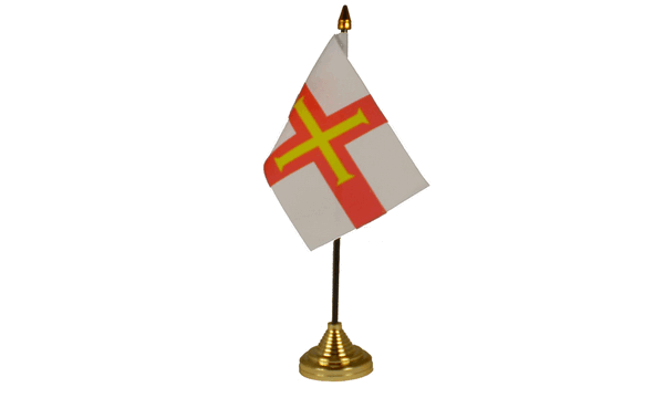 Guernsey Table Flags