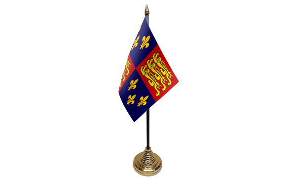 Royal Banner 16th Century Table Flags