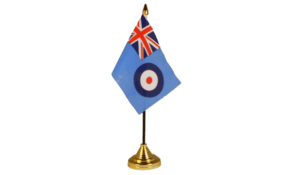 RAF Ensign Table Flags