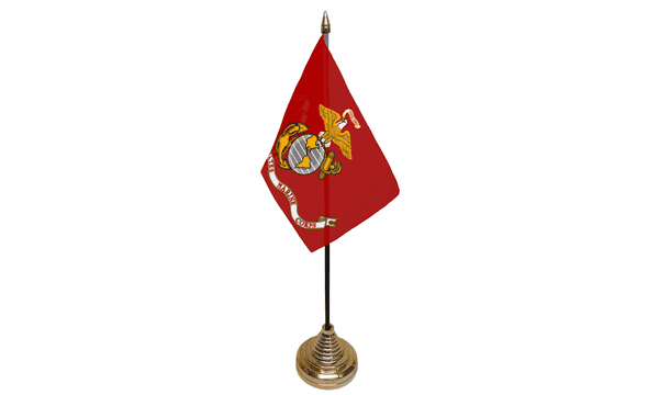 US Marine Corps Table Flags