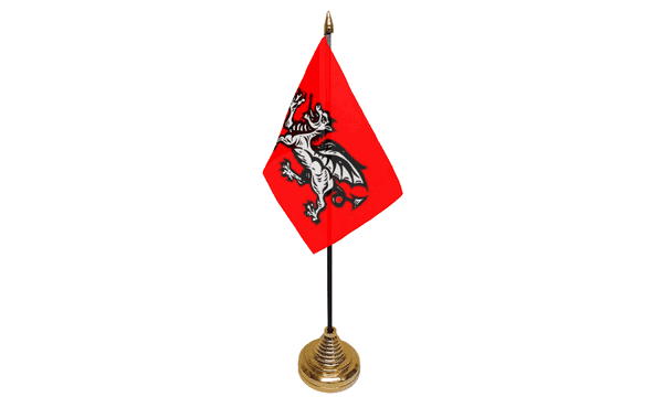 English Wessex Dragon Table Flags (B)