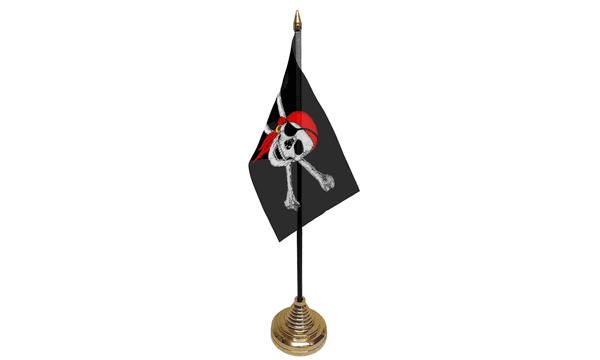 Pirate Bandana Table Flags