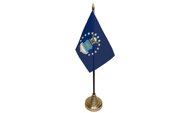 US Air Force Table Flags