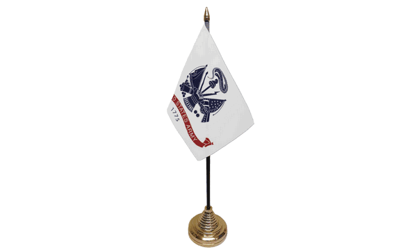 US Army Table Flags
