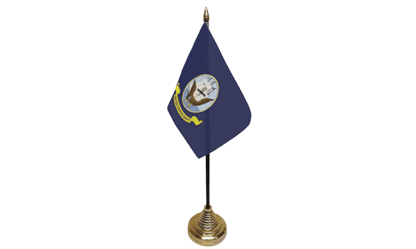US Navy Table Flags