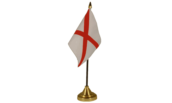 Alabama Table Flags