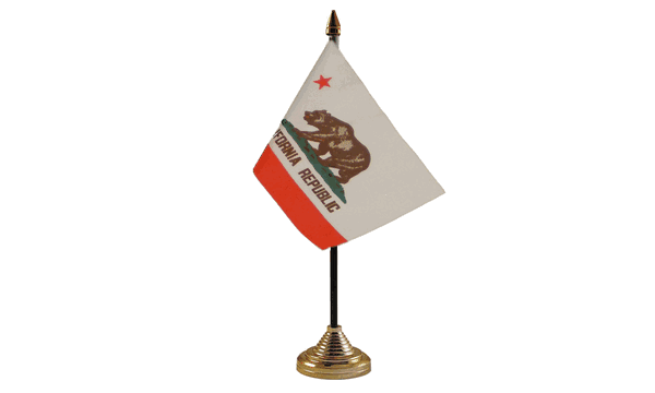 California Table Flags