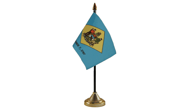 Delaware Table Flags