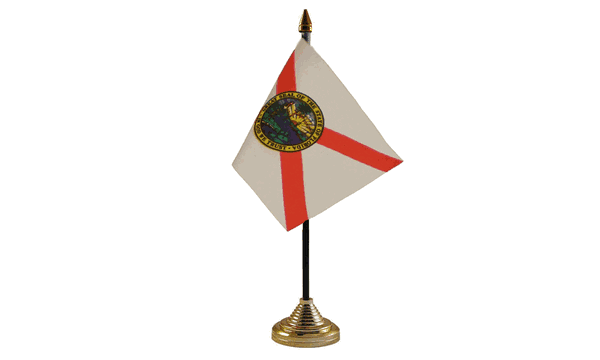 Florida Table Flags