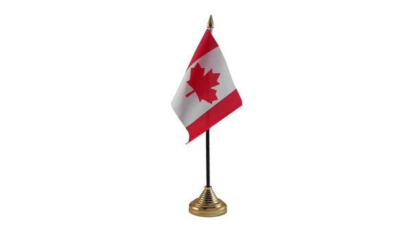 Canada Table Flags