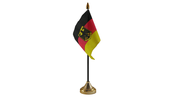 Germany Crest Table Flags