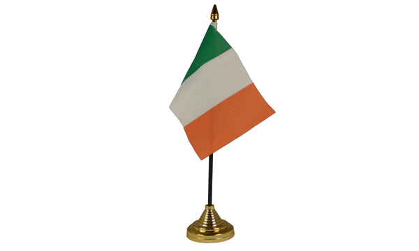 Ireland (Eire) Table Flags
