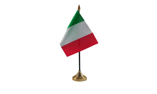 Italy Table Flags
