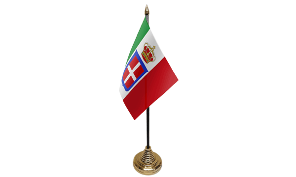 Italy State 1861-1946 Table Flags