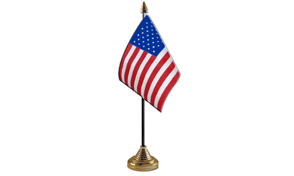 USA (United States) Table Flags