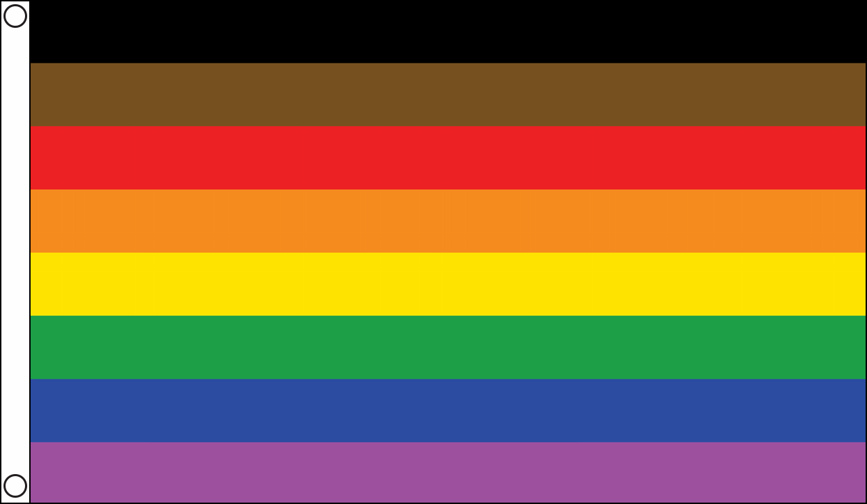 More Colour More Pride Flags